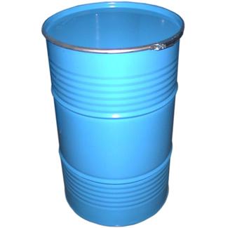 Imagen de Bidón Cierre Aro 220 Litros Metálico Color Azul Ref.220K08