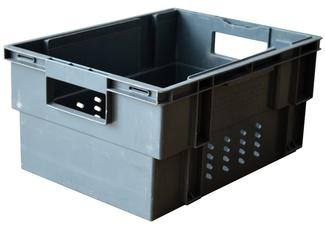 Imagen de Caja 30x40x20 Encajable y Apilable Usada