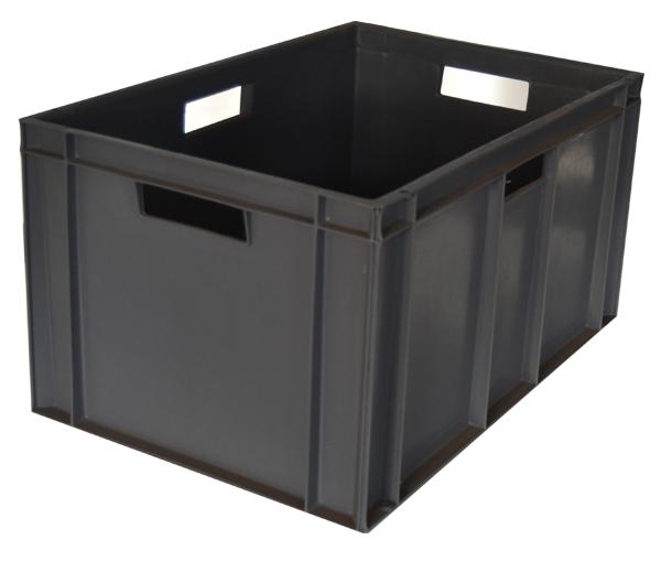 Caja de plastico norma europa seminueva 60 x 40 x 31 9 - Cajas apilables de plastico ...