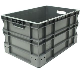 Imagen de Caja Eurobox Gris 40 x 60 x 33 cm Ref.SPK 4632
