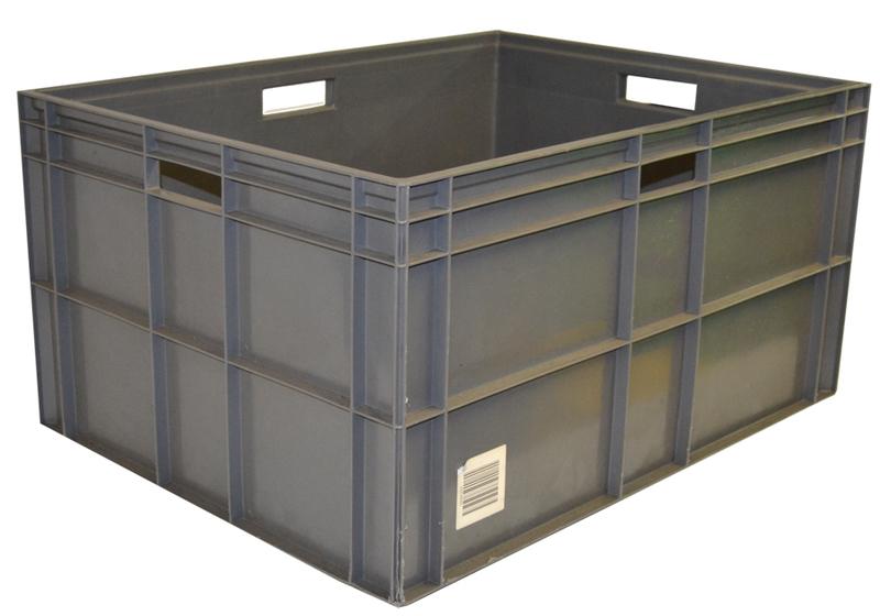 Caja uso alimentario 60 x 80 cm seminueva ref cu21166 - Cajas de plastico ...
